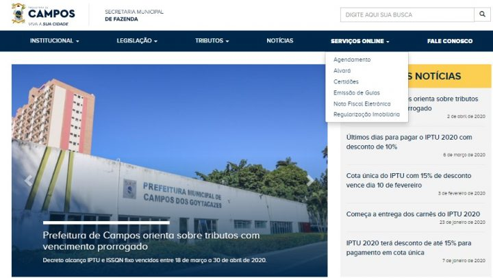 Secretaria de Fazenda amplia lista de serviços online