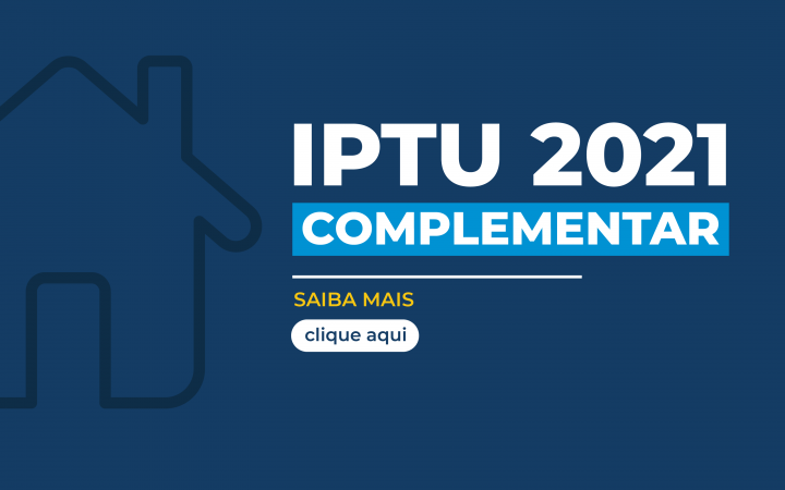 IPTU COMPLEMENTAR 2021